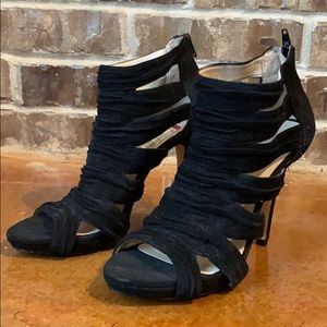 INC International Concepts Peep Toe Strappy Heel